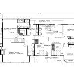A-696-BFU2-Main Floor Plan