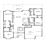 A-766-BGU2-Main Floor Plan