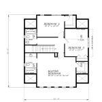 H-450-B3-Upper Floor Plan
