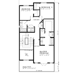 H-939-BU2-2nd Floor Plan