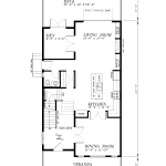 H-939-BU2-Main Floor Plan