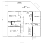 L-64-A-Main Floor Plan