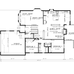 R-643-BFGU2-Main Floor Plan